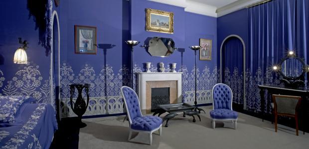 Bedroom of Jeanne Lanvin, Musée des Arts Décoratifs