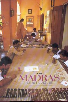 Madras de fil en aiguille
